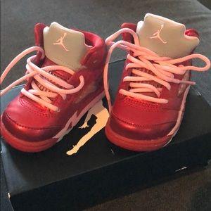 Jordan 5 retro infant shoes